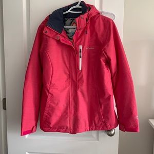 Columbia Omni-Heat Jacket in Pink